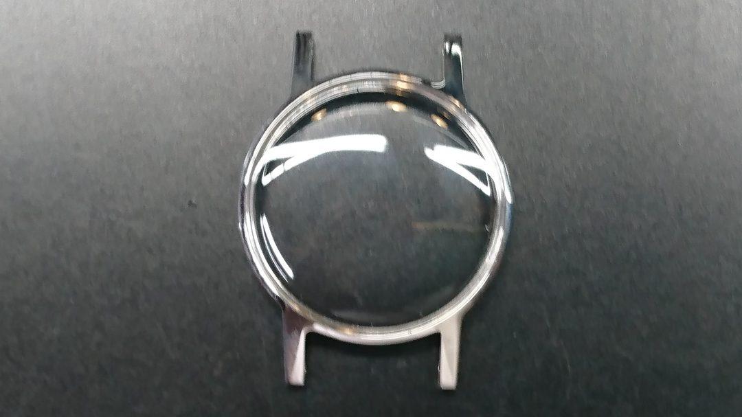 オメガ アンティーク オーバーホール、ポリッシュは新潟市ブローチ時計修理工房へ!