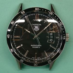 新潟で時計修理オーバーホール時計電池交換をするならBROOCH時計修理工房 TAG HEUER WV211Mのオーバーホール&ポリッシュ&リューズ修理TAG HEUER WV211M