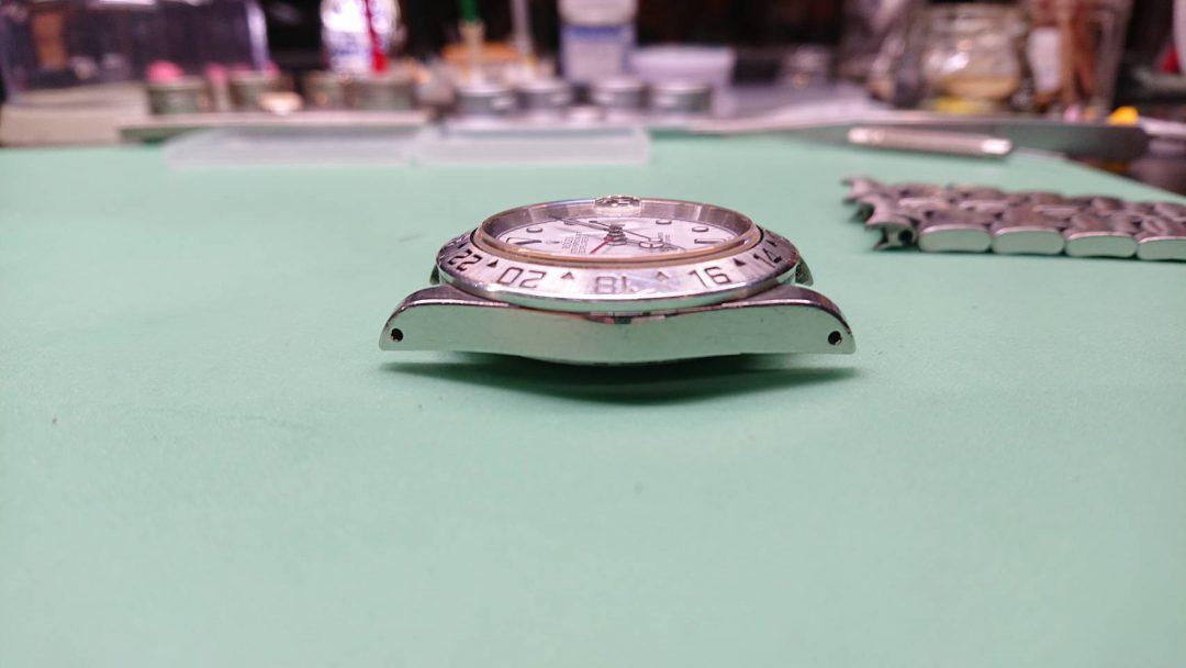 ROLEXEXPOLERⅡエクスプローラーⅡオーバーホール時計修理新潟電池交換