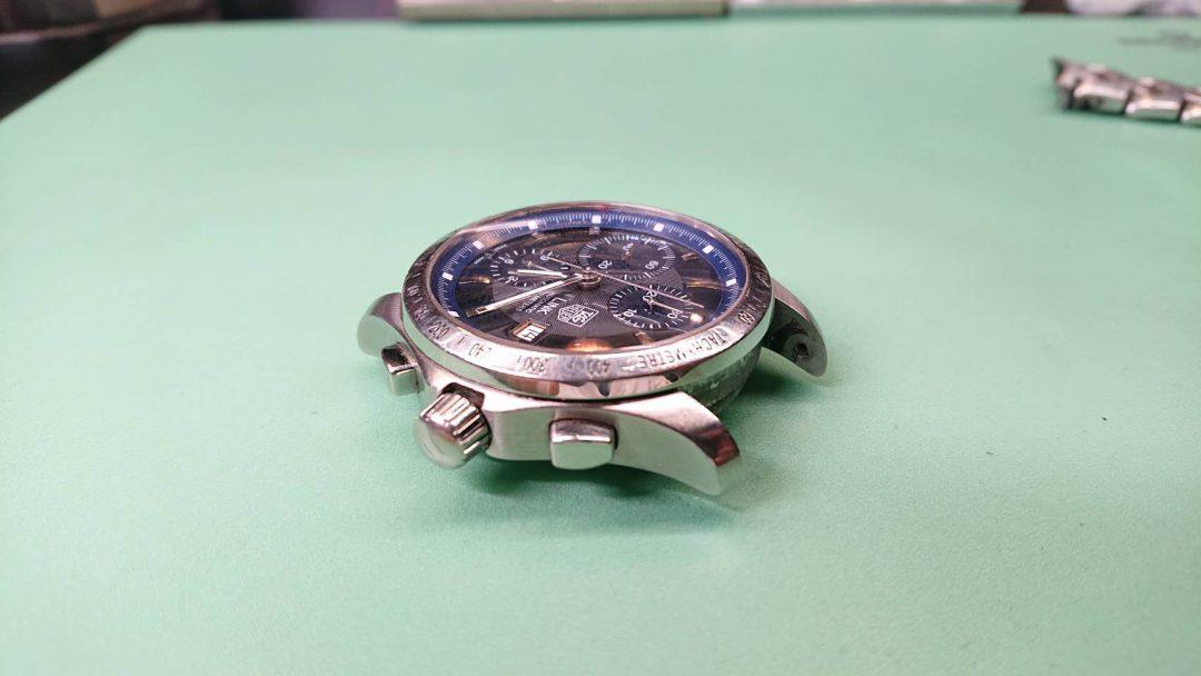 TAGHeuerタグホイヤーLINKリンク時計修理新潟オーバーホール電池交換