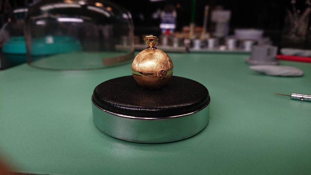TURLERswiss手巻き時計オーバーホール新潟時計修理