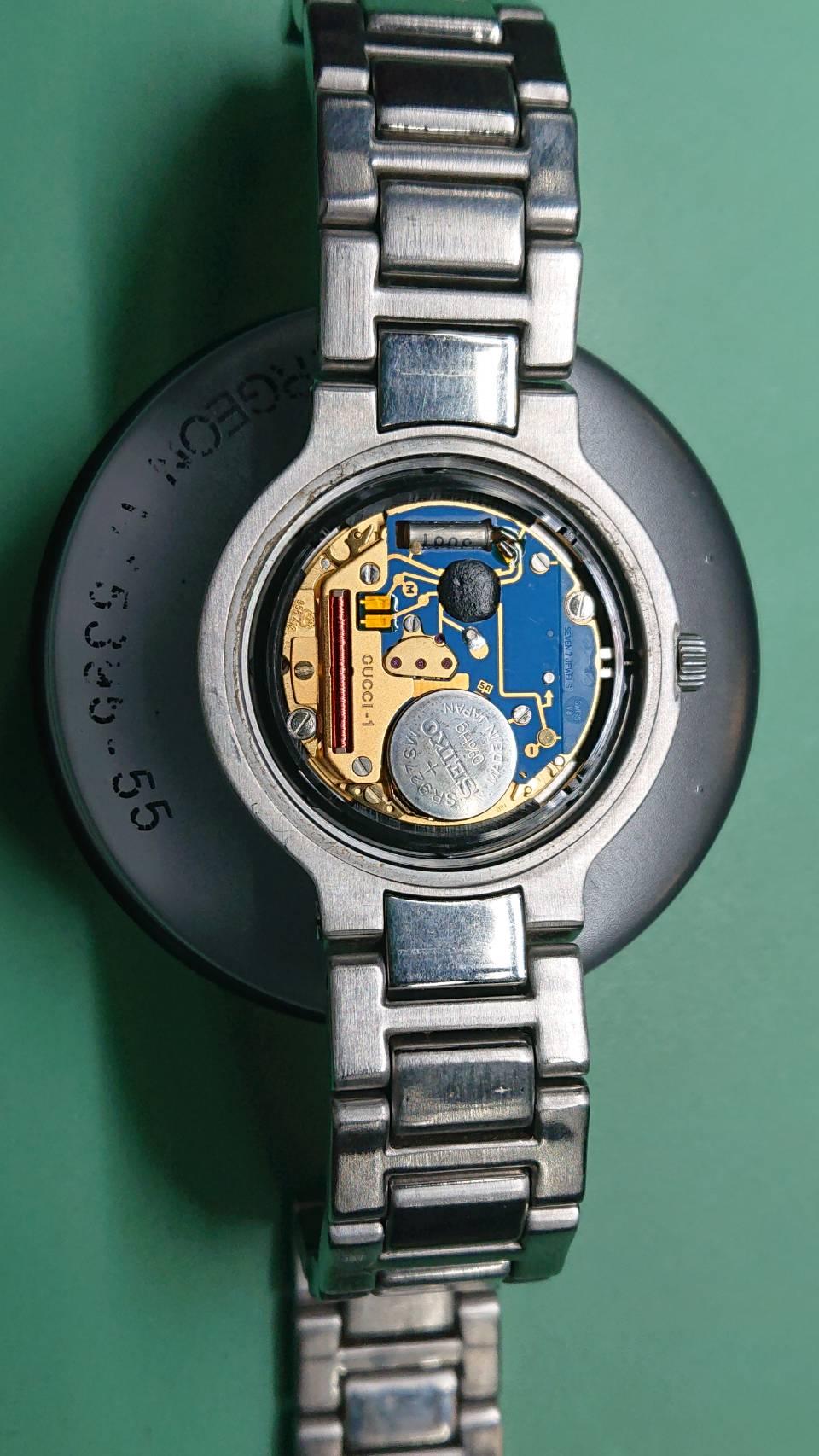 クオーツのオーバーホールはブローチ時計修理工房