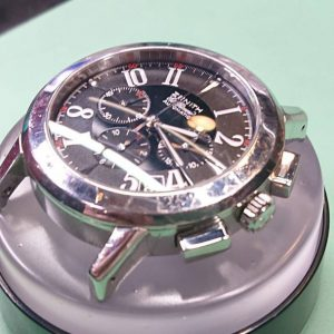 ゼニス エルプリメロ ポリッシュ、部品交換 時計修理は新潟市ブローチ時計修理工房へ!