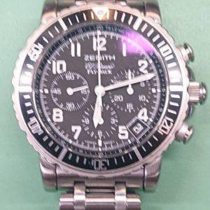 ゼニスのオーバーホール(分解掃除)は新潟市ブローチ時計修理工房におまかせください!