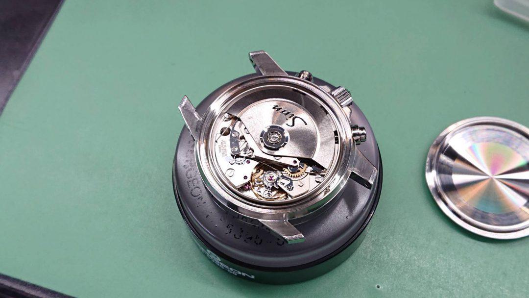 ジン オーバーホール(分解掃除)は新潟市ブローチ時計修理工房におまかせください!