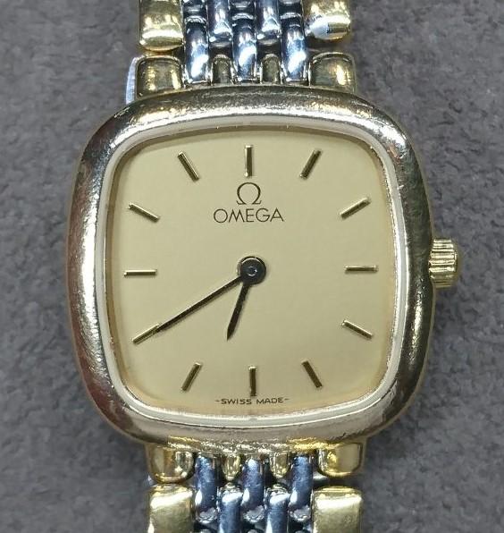オメガ デ・ヴィル オーバーホール(分解掃除)は新潟市ブローチ時計修理工房におまかせください!
