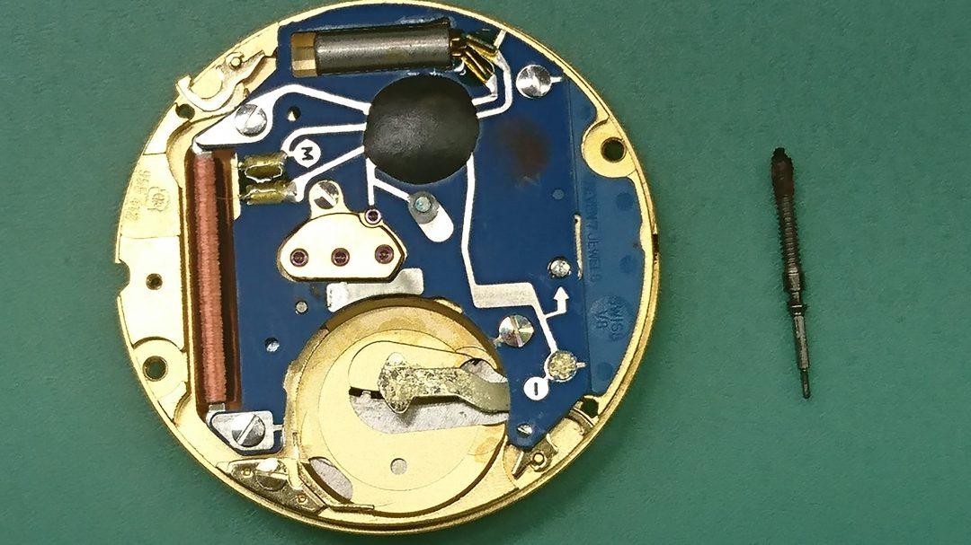オメガ シーマスター 電池交換 時計修理は新潟市ブローチ時計修理工房におまかせください!