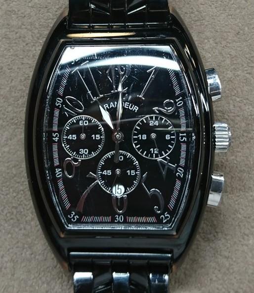 GRANDEUR(グランドール)を新潟市にあるブローチ時計修理工房でムーブメント交換しました。