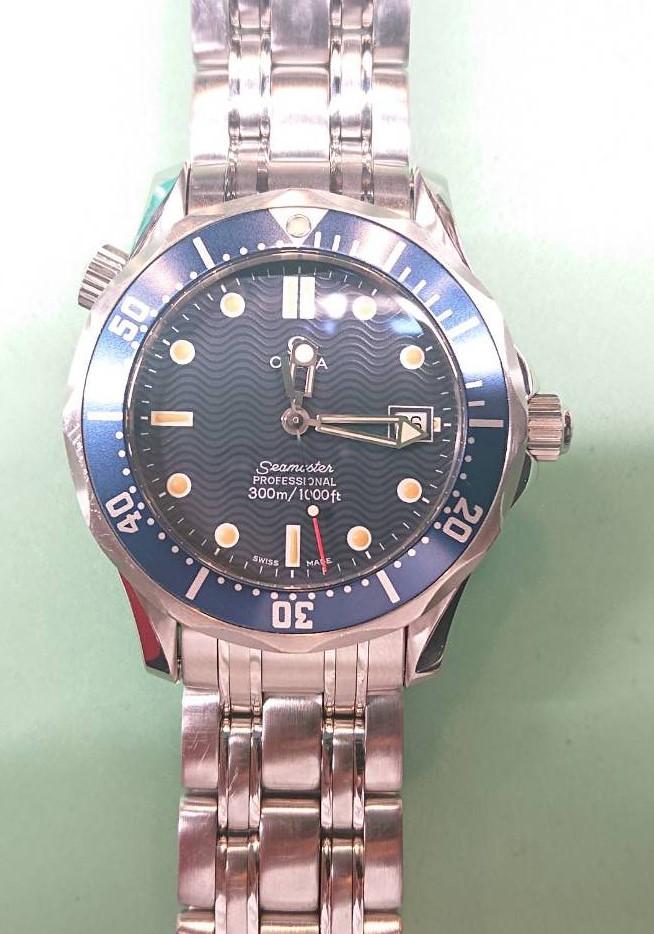 オメガのシーマスターを新潟市にある時計修理工房でオーバーホールしました。