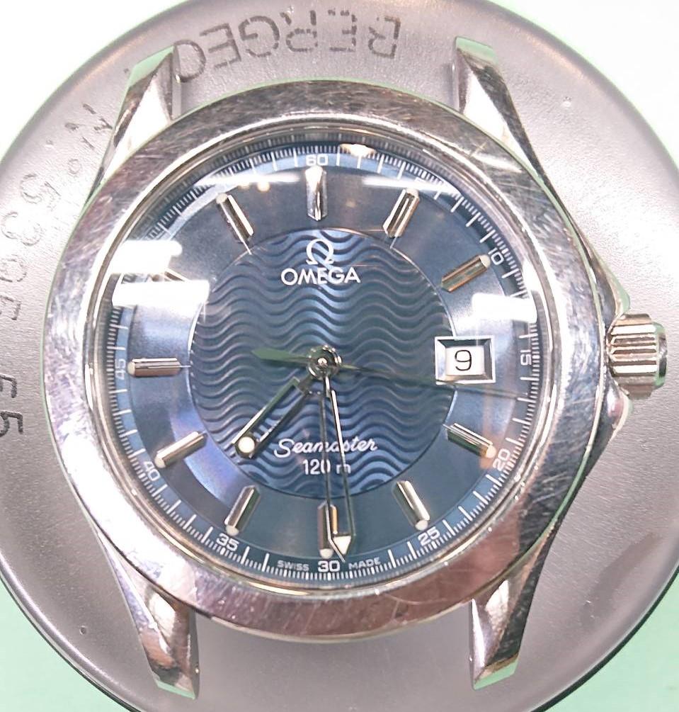 オメガ、シーマスターのオーバーホールなら新潟市にある時計修理工房までお越しください。
