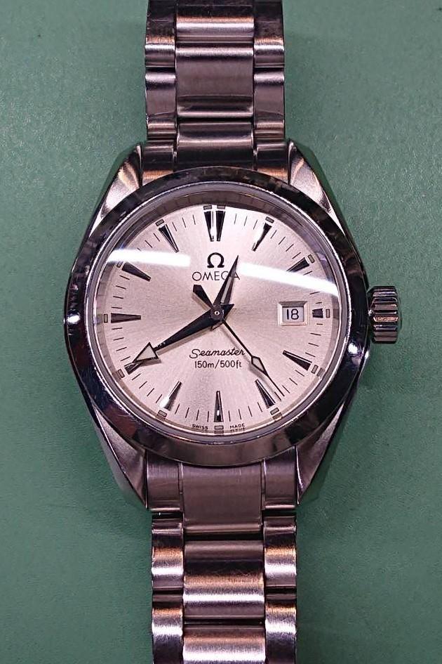 オメガ オーバーホール(分解掃除)は新潟市ブローチ時計修理工房におまかせください!