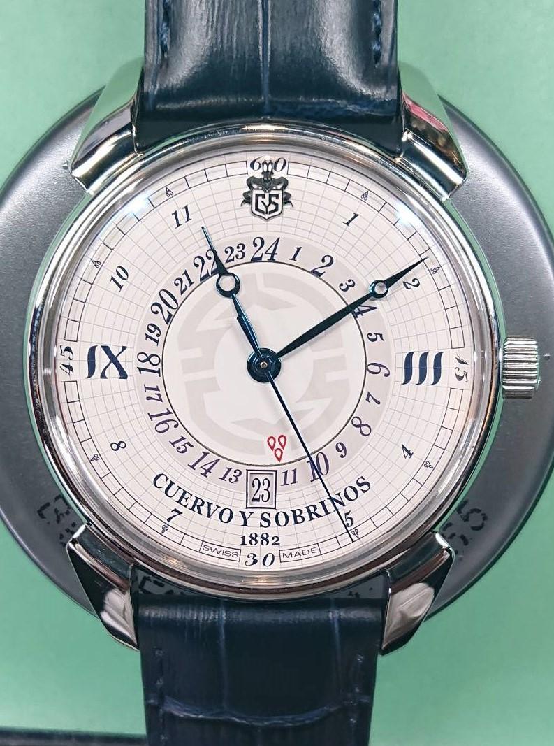 クエルボイソブノリスのオーバーホールするなら新潟万代ブローチ時計修理工房
