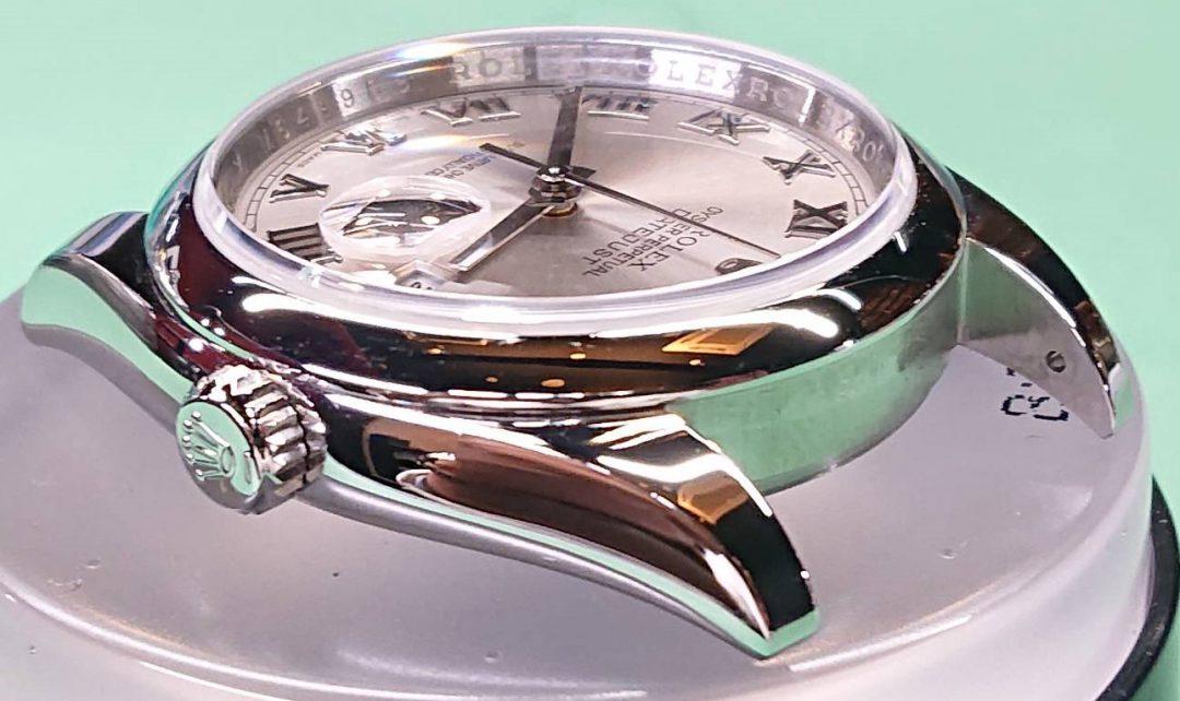 ロレックス オーバーホール(分解掃除)、ポリッシュ(外装磨き)は新潟市ブローチ時計修理工房へ!