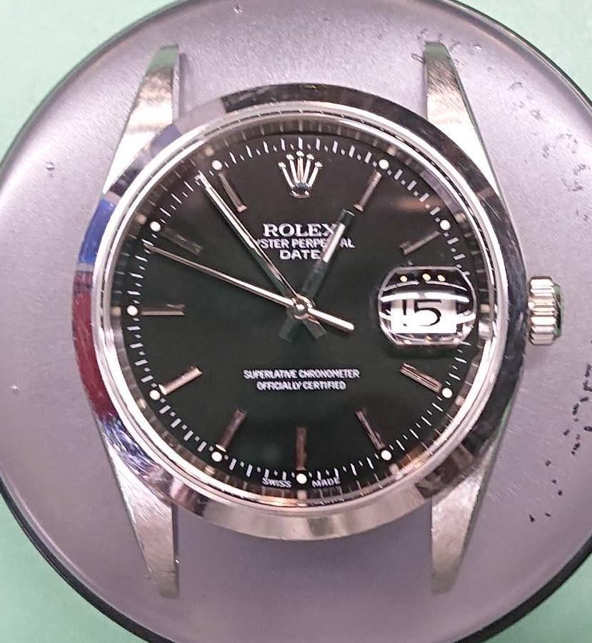 ロレックス オーバーホール(分解掃除)は新潟市ブローチ時計修理工房におまかせください!