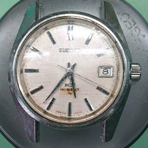 セイコー バネ棒 折れ込み除去作業 時計修理は新潟市ブローチ時計修理工房におまかせください!