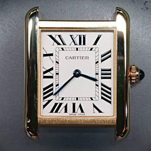 カルティエ ケースポリッシュ(外装磨き)は新潟市ブローチ時計修理工房におまかせください!