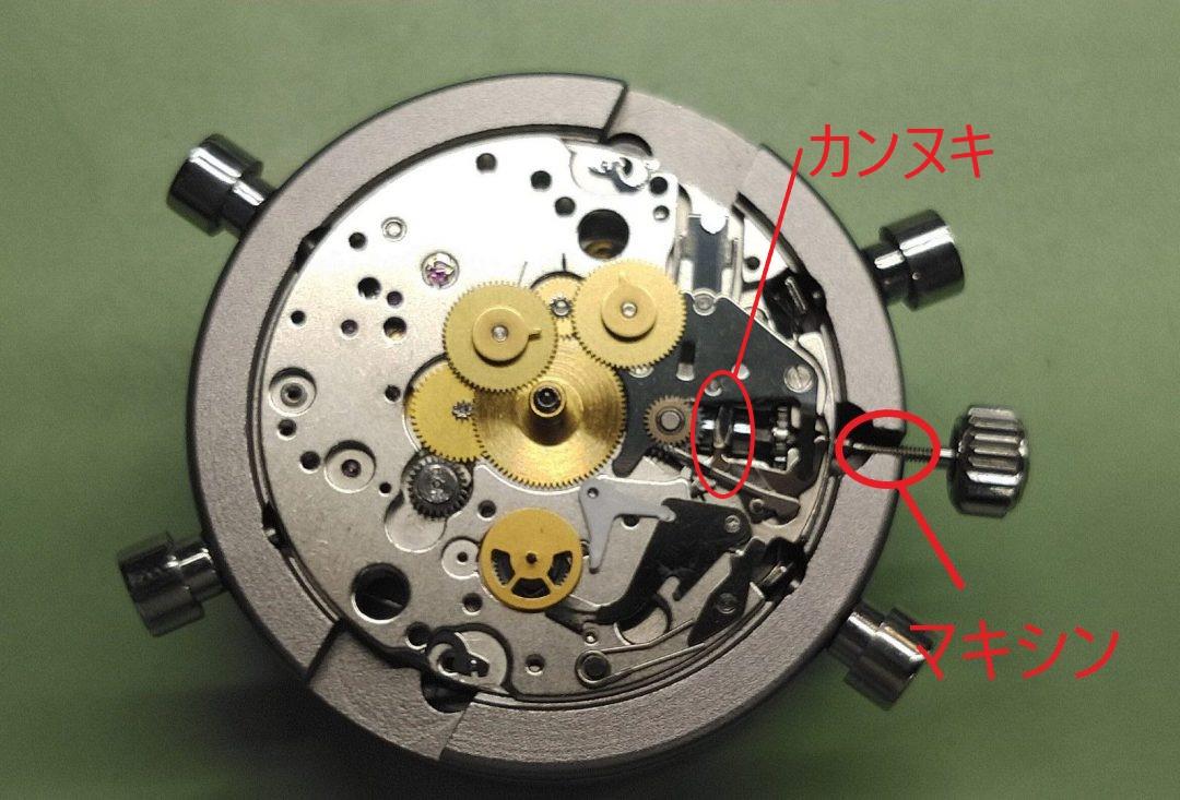 キャリバー7750のカンヌキを交換するならブローチ時計修理工房