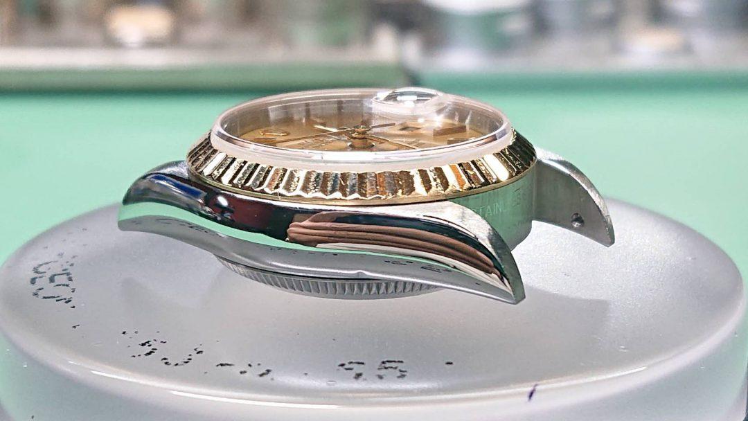 ロレックスのオーバーホール、ポリッシュ加工は新潟市にある時計修理工房まで!