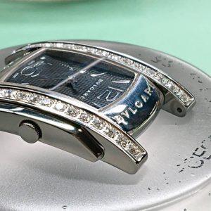 ブルガリのオーバーホール外装磨きをするなら新潟万代ブローチ時計修理工房