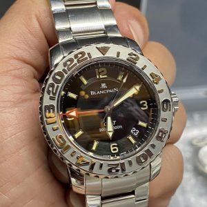ブランパン ポリッシュ(外装磨き)は新潟市ブローチ時計修理工房におまかせください!