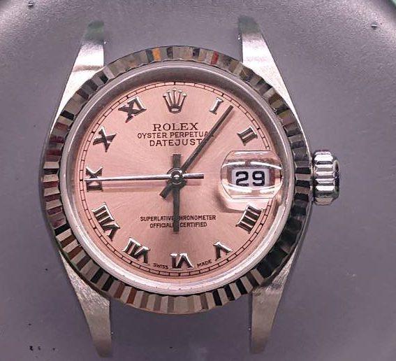 ROLEX DETEJUST Ref.79174 のオーバーホールを新潟市にある時計修理工房で行いました。