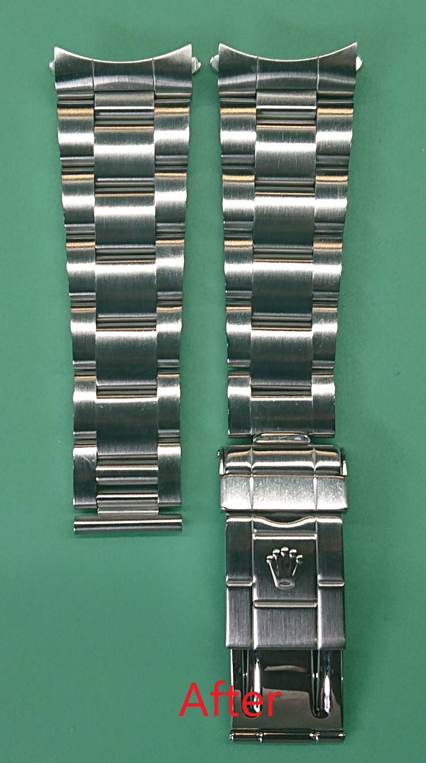 ロレックス オーバーホール(分解掃除)、ポリッシュ(外装磨き)は新潟市ブローチ時計修理工房におまかせください!