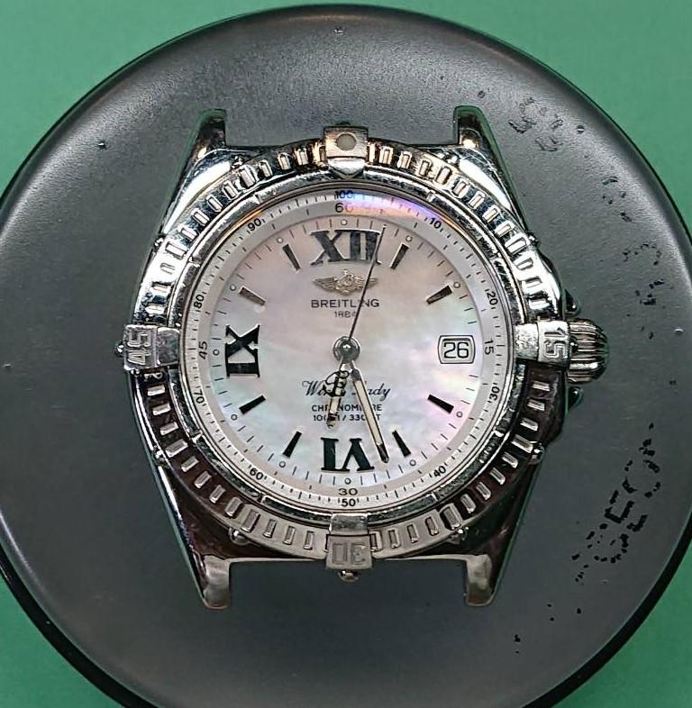 ブライトリングのオーバーホールなら新潟市にある時計修理工房まで!