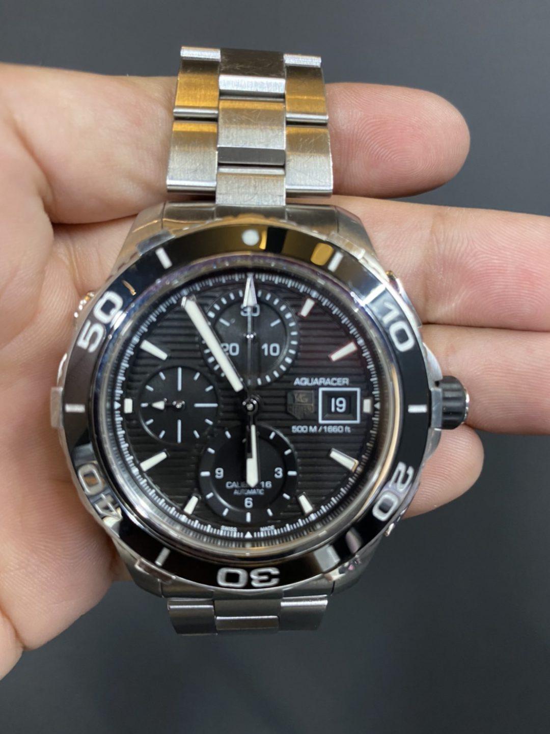 タグホイヤー オーバーホール(分解掃除)は新潟市ブローチ時計修理工房におまかせください!