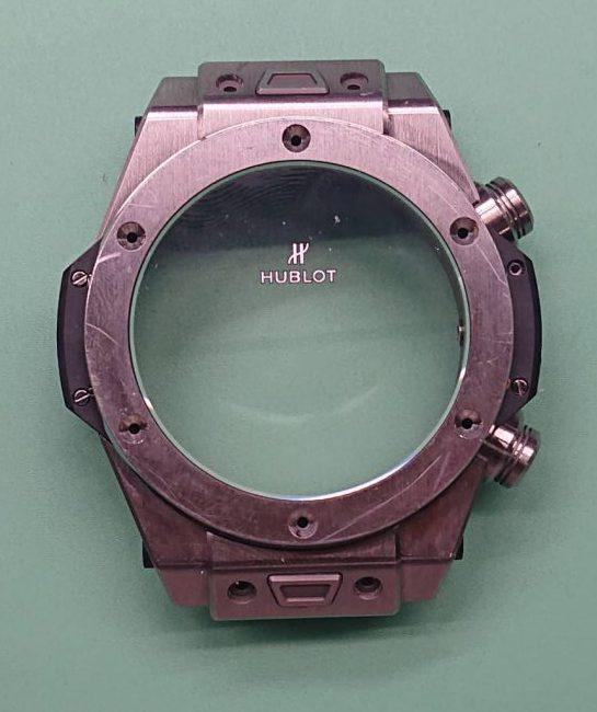 ウブロ ケースポリッシュ(外装磨き)は新潟市ブローチ時計修理工房におまかせください!