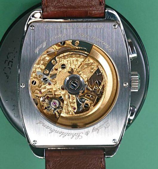 ダービー&シャルデンブランのオーバーホール(分解掃除)なら新潟市にあるブローチ時計修理工房まで!