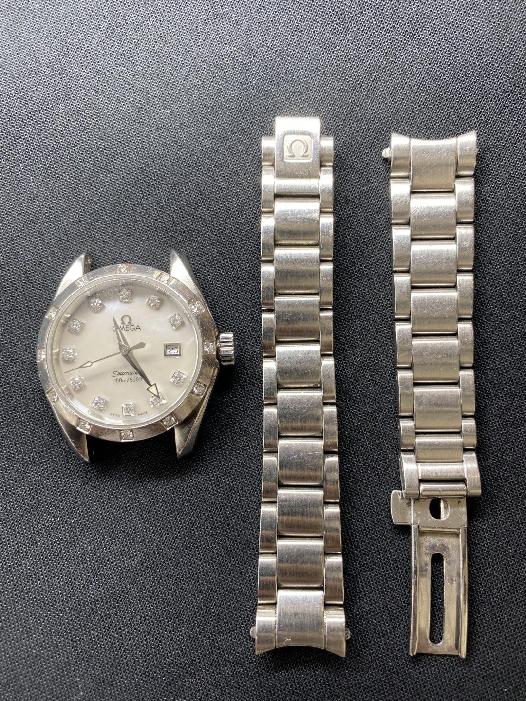 オメガ シーマスター オーバーホール(分解掃除)、ポリッシュ(外装磨き)は新潟市ブローチ時計修理工房へ!