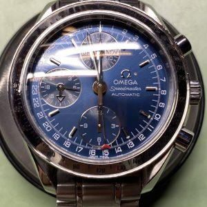 オメガ時計修理ブレスレットを磨き直して新品仕上