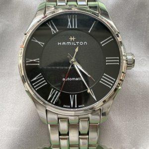 ハミルトン ケース、ブレスポリッシュ(外装磨き) 修理は新潟市ブローチ時計修理工房におまかせください!