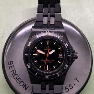 オメガ クオーツ オーバーホール(分解掃除)は新潟市ブローチ時計修理工房におまかせください!