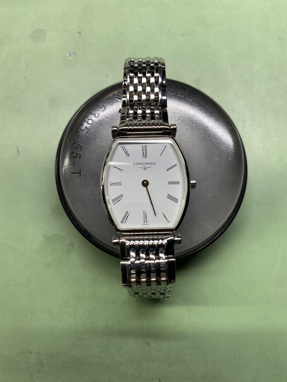 ロンジン オーバーホール(分解掃除)は新潟市ブローチ時計修理工房におまかせください!