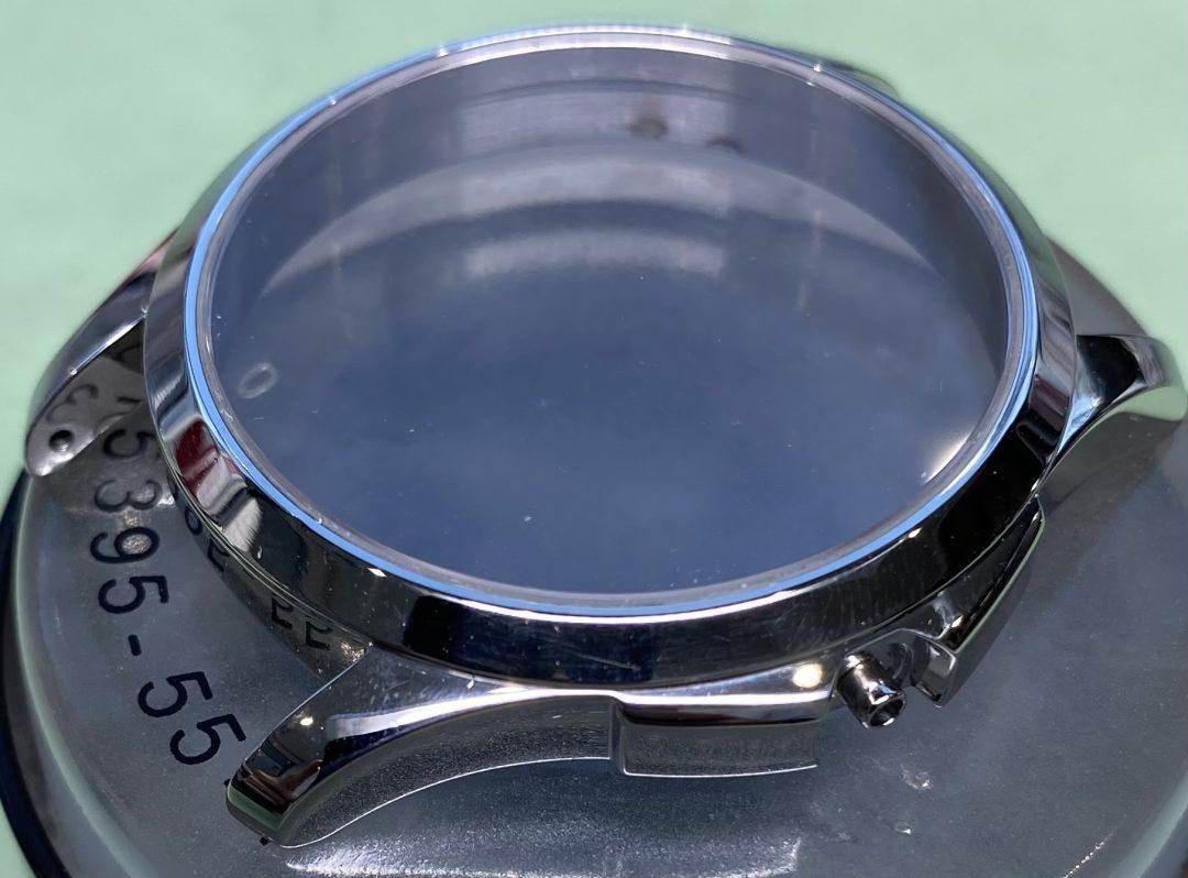 GUCCI グッチ ケース、ブレスポリッシュ、外装磨きは新潟市 ブローチ時計修理工房におまかせください!