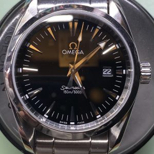 オメガ シーマスター 時計修理は新潟市ブローチ時計修理工房におまかせください!