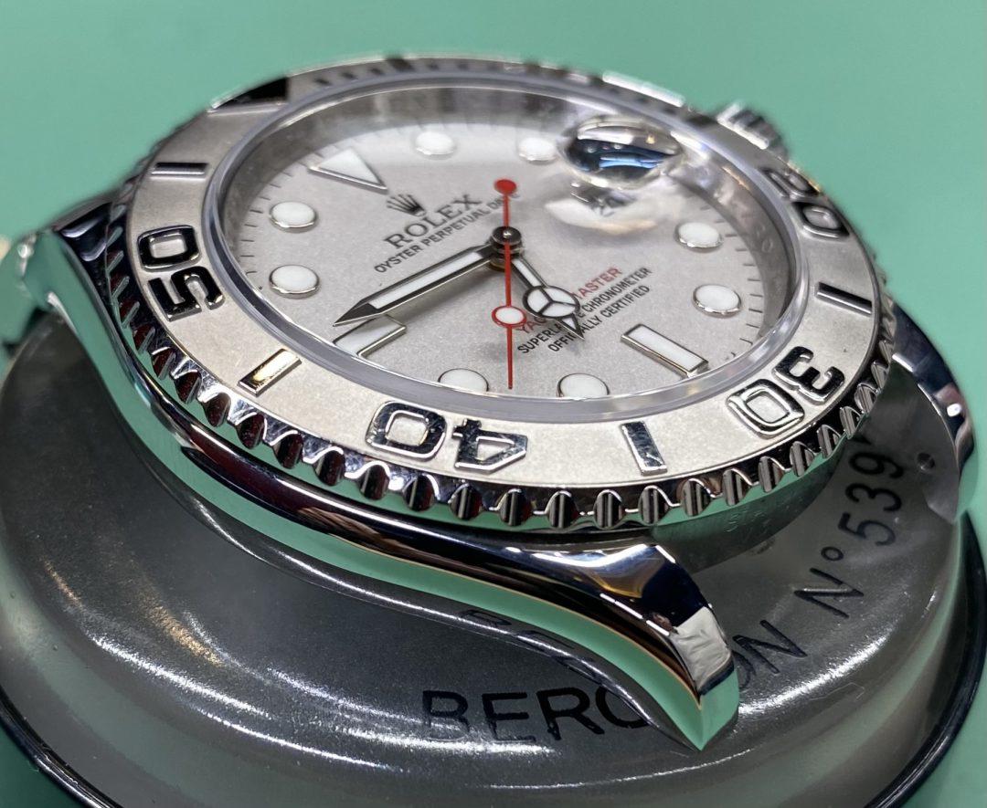 新潟市にある時計修理工房でROLEXロレックスのオーバーホール&ポリッシュ加工をしました。