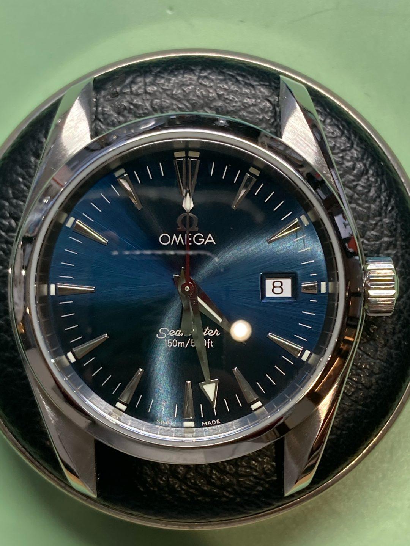 オメガ シーマスターの時計修理は新潟市ブローチ時計修理工房へおまかせください!