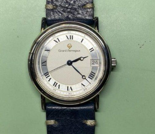 ジラール・ぺルゴ-Ref.4797 オーバーホールとバンド交換は新潟市にある時計修理工房で承ります。