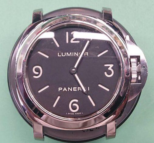 パネライのオーバーホールは新潟市にある時計修理工房で承ります。