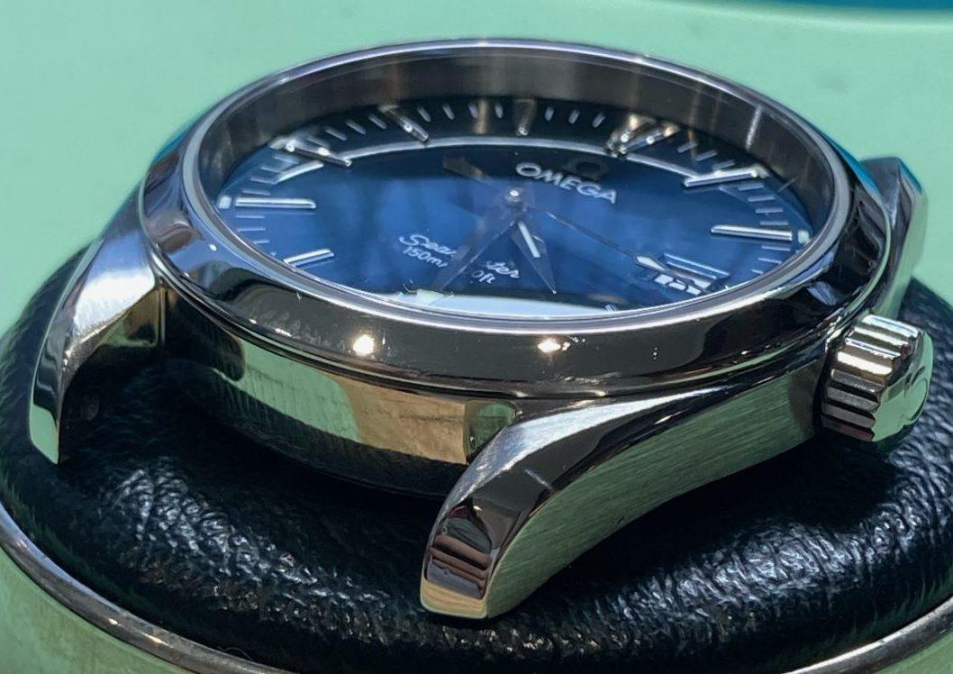 オメガ シーマスターの時計修理は新潟市ブローチ時計修理工房へおまかせください