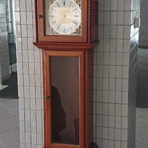 セイコーホールクロック(柱時計) Ref.605B オーバーホール(分解掃除)は新潟市にあるブローチ時計修理工房までご依頼ください。