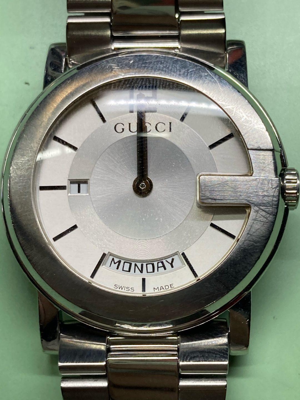 グッチのオーバーホールは新潟市にある時計修理工房までお越しください。