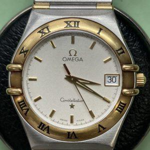 オメガのコンステレーションをオーバーホールするなら新潟万代ブローチ時計修理工房