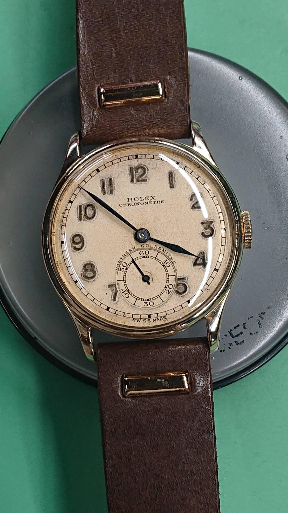 ロレックスのアンティークのオーバーホール外装磨きをするなら新潟万代ブローチ時計修理工房