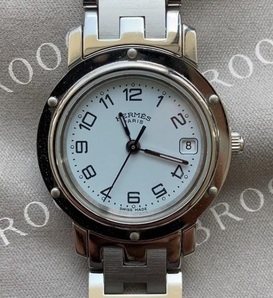 エルメスの電池交換は新潟市にある時計修理工房までお越しください。