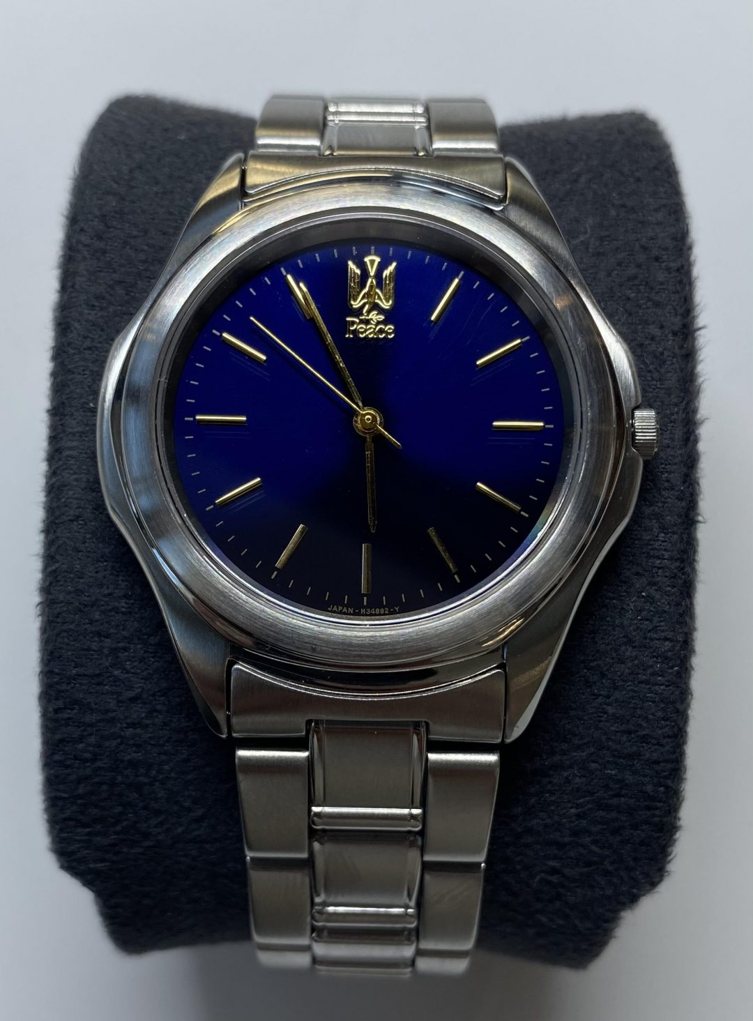 新潟市にある時計修理工房で非売品の時計をオーバーホールしました。