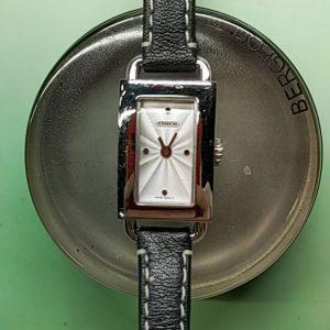 コーチの電池交換パッキン交換は新潟万代ブローチ時計修理工房