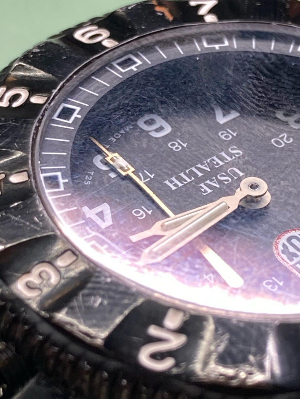 ルミノックス 針付け直し 時計修理は新潟市ブローチ時計修理工房におまかせください!